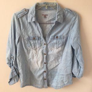 Blue long shirt